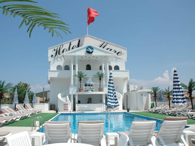 Местоположение на хотел Mare 3*, Айвалък: Хотелът се намира в кв. Сарамсъклъ, на плажа, на 7 км от Айвалък, работи целогодишно. Настаняване в хотел Mare 3*, Айвалък: В хотела има […]